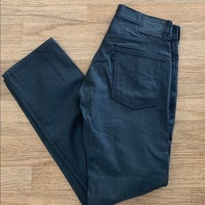Levi's 513 Straight Leg Polished Char Denim NEW!